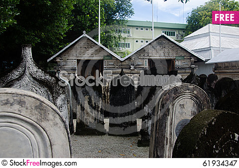 Free Cemetery At Maldives Royalty Free Stock Photography - 61934347