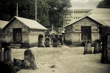 Free Cemetery At Maldives Stock Photography - 61934212