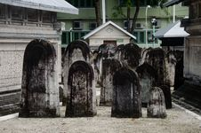 Free Cemetery At Maldives Stock Photography - 61934242
