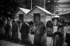 Free Cemetery At Maldives Stock Photos - 61934253
