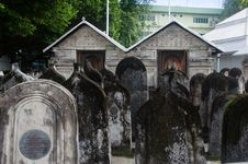 Free Cemetery At Maldives Stock Image - 61934281