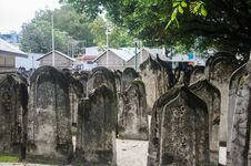 Free Cemetery At Maldives Stock Photos - 61935023