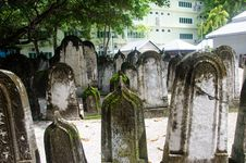 Free Cemetery At Maldives Stock Images - 61935434