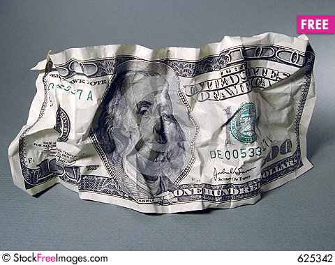 Free One Hundred Dollar Stock Photography - 625342