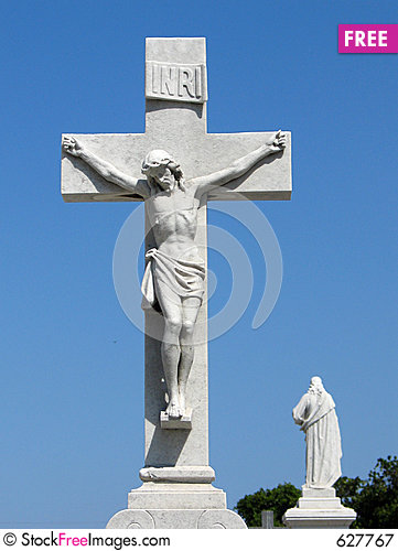 Free Jesus Christ On A Cross Royalty Free Stock Photography - 627767