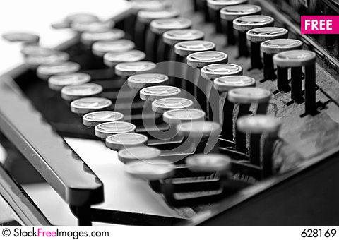 Free Vintage Typewriter 2 Royalty Free Stock Images - 628169