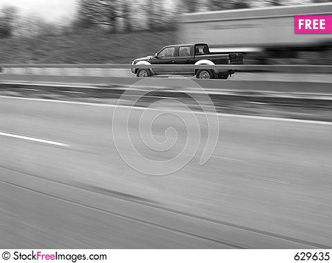 Free Motorway Royalty Free Stock Photo - 629635