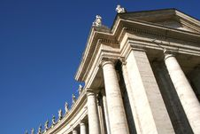 Free Vatican St. Peter Cathedral Detail Royalty Free Stock Photo - 620245