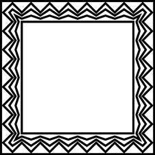 Free Geometric Border Stock Photography - 620992