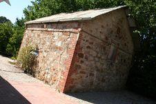 Free Stone Cottage Royalty Free Stock Photos - 621718