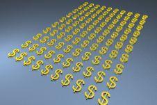 Free 100 Dollars Royalty Free Stock Image - 621876