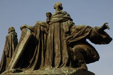 Free Jan Hus Monument In Prague Stock Images - 621894
