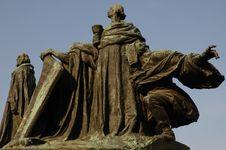 Jan Hus Monument In Prague Stock Images
