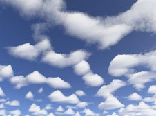 Free Clouds Royalty Free Stock Photography - 622267