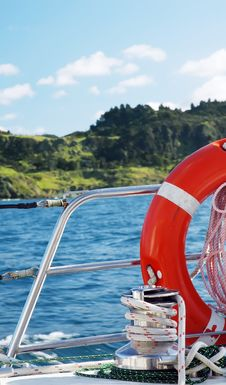 Beautiful Sailing Royalty Free Stock Photos