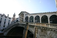 Free Rialto Bridge, Venice Stock Image - 623181