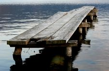 Free Abandoned Bridge Royalty Free Stock Photography - 624017