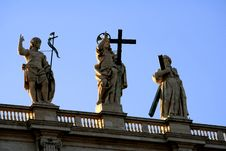 Free Vatican St. Peter Cathedral Royalty Free Stock Photos - 624018