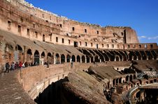 Free Colosseum By Day Royalty Free Stock Image - 624046