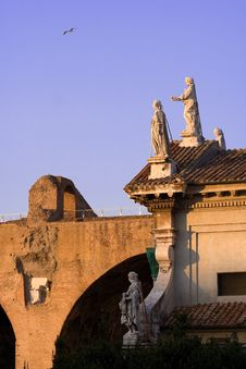 Free Rome Ancient Architecture Stock Photography - 624142