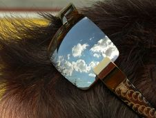 Free Sunglass Reflection Royalty Free Stock Image - 624176