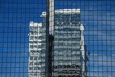 Free Skyscraper Reflection Stock Images - 624874