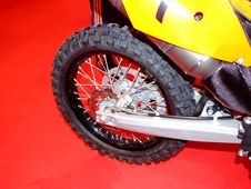 Free Motorcycle Rear Wheel Stock Photos - 625353