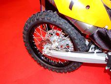 Motorcycle Rear Wheel Stock Photos