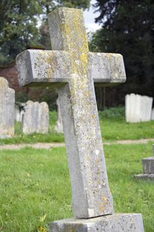 Free Old English Church Cemetery Stock Photo - 625630