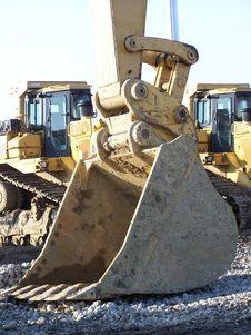 Free Large Backhoe Bucket Royalty Free Stock Images - 625809
