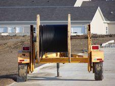 Free Wire Wheel Trailer Stock Image - 625811