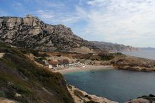Free Les Goudes Calanques Royalty Free Stock Images - 625819