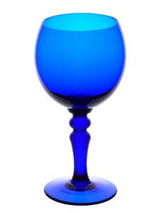 Free Blue Goblet Stock Photography - 627092