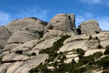 Free Montserrat Mountain Royalty Free Stock Photo - 627885