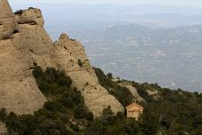 Free Montserrat Mountain Royalty Free Stock Photos - 627888