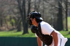 Free Baseball - Catcher Stock Images - 627974