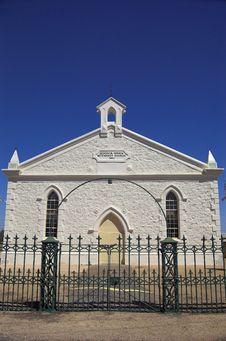 Moonta Methodist Church (Vertical) Royalty Free Stock Images