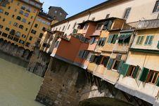 The Ponto Vecchio Royalty Free Stock Photo