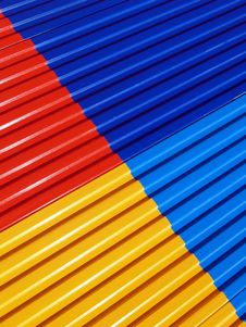 Free Colored Fence Royalty Free Stock Photography - 628637