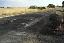 Free Scorched Highway Stock Photo - 628830