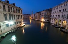 Free Grand Canal Evening Stock Image - 629781