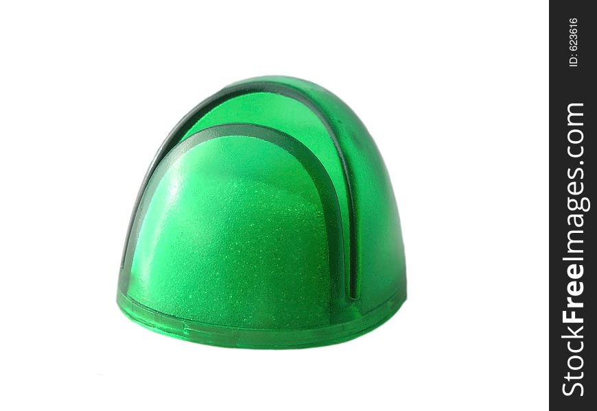 Green Paperweight
