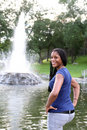 Free Pretty Teen In The Park Stock Image - 6201191