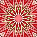 Free Christmas Star Mandala Royalty Free Stock Photography - 6208757