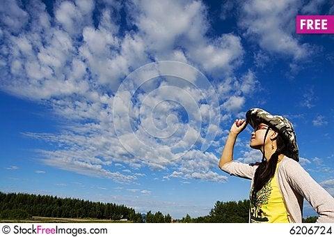 Free A Girl Enjoying The Sun Stock Images - 6206724