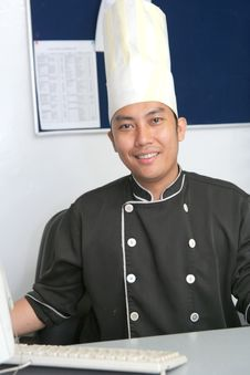 Free Chef In Office Stock Photography - 6200902