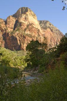 Free Zion National Park Kolob Canyon Royalty Free Stock Photo - 6201625