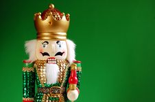 Free Nutcracker In Green Royalty Free Stock Photos - 6201708