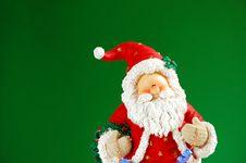 Santa Doll Stock Photo