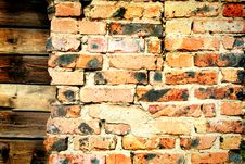 Free Brick And Wood Royalty Free Stock Photography - 6201977